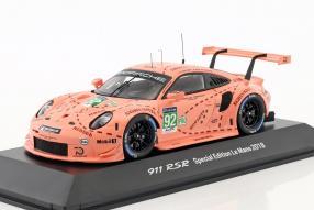 Porsche 911 RSR 2018 1:43 pink pig