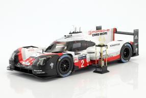 Porsche 919 hybrid 2017 1:18 winner Le Mans