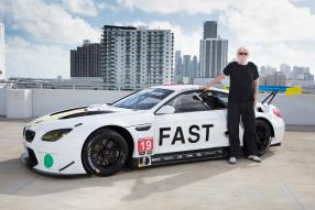 BMW M6 Art Car Baldessari