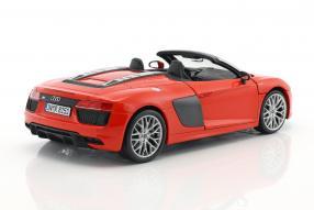 Set Modellautos Audi R8 Spyder 1:18