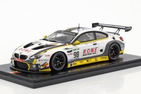 BMW M6 GT3 24h Spa 2017 Rowe Racing 1:43