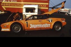 BMW M1 Kurt König by Mike de Winter 1982 Wunstorf