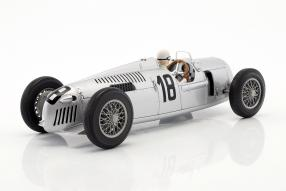 Modelcars #F1 Auto Union Typ C 1936 Eifelrennen 1:18