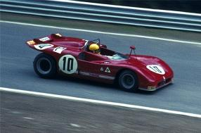 Alfo Romeo T33/3 am Nürburgring / Foto: Lothar Spurzem