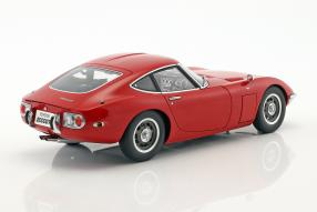 modelcars Toyota 2000 GT 1:18