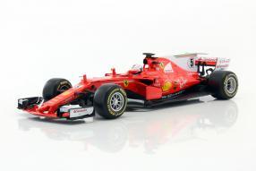 #Modellautos #Vettel #Bburago #SF70H #F1 2017 1:18