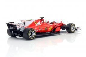 #modelcars #Vettel #Bburago #SF70H #F1 2017 1:18