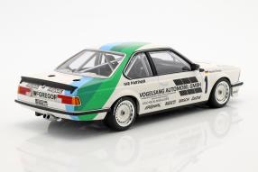 modelcars BMW 635 CSi Bergischer Löwe Zolder 1984 1:18