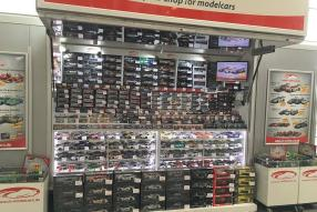 ck-modelcars im Ringboulevard am Nürburgring