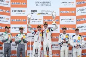 Podium: KÜS Team75 Bernhard Sachsenring 2018