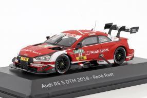 Audi RS 5 DTM Rast 2018 1:43