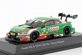 Modellautos Audi RS 5 DTM Nico Müller 2018 1:43
