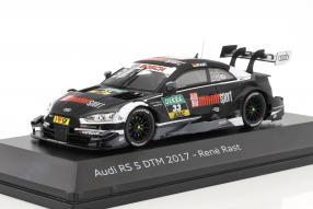Audi RS 5 DTM Rast 2017 1:43