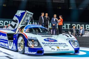 Stuck und Bell: Porsche 962 C 1987