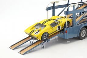 modelcars Bartoletti Renntransporter Cobra 1:18