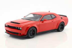 Dodge Challenger SRT Demon Coupé 2018 1:18