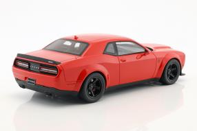 Modellautos Dodge Challenger SRT Demon Coupé 2018 1:18