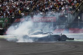 Hamilton zum 5. Mal Weltmeister, Mexiko 2018