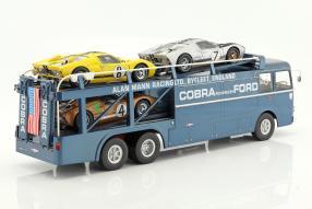 Shelby Cobra Bartoletti Renntransporter Cobra 1:18