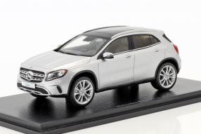 Modelcars Mercedes-Benz GLA 2017 1:43