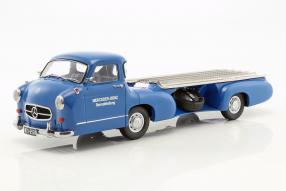 MercedesBenz Renntransporter #DasBlaueWunder 1955 1:18