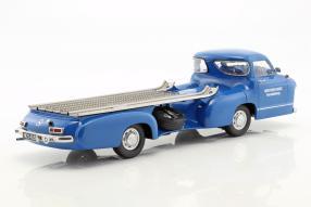 #Modellautos #MercedesBenz Renntransporter #DasBlaueWunder 1955 1:18