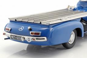 modelcars MercedesBenz Renntransporter #DasBlaueWunder 1955 1:18