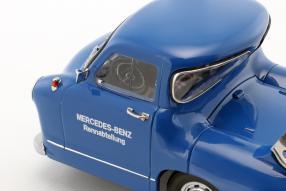 MercedesBenz Renntransporter #DasBlaueWunder 1955 1:18 by iScale