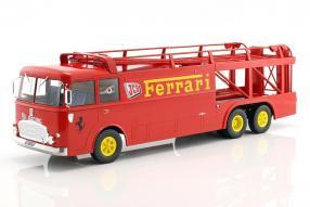 Fiat Bartoletti Renntransporter Norev 1:18 JCB Ferrari