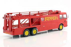 Modellautos Fiat Bartoletti Renntransporter Norev 1:18 JCB Ferrari