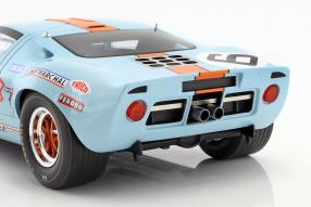 Modellautos Ford GT40 #LeMans24 1969 1:12