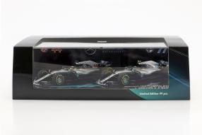 Set Hamilton Bottas F1 2018
