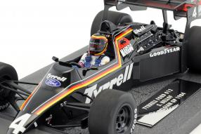 Modelcars Stefan Bellof Tyrrell 012 1984 1:18