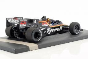 Modellautos Stefan Bellof Tyrrell 012 1984 1:18