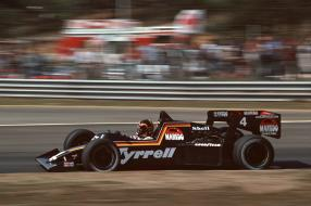 Stefan Bellof Tyrrell 012 1984 Belgien
