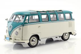 Modellautos Volkswagen VW T1 Sambabus 1962 1:12 modellini