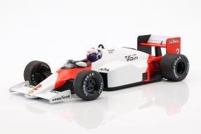 Alain Prost McLaren MP4/2C 1985 1:18