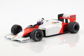 Alain Prost McLaren MP4/2C 1986 1:18