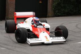 Alain Prost McLaren MP4/2C 1986 by Richard West Sussex
