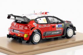 miniatures Citroën C3 WRC 1:43