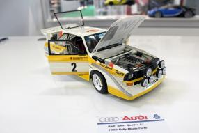 Autoart Neuheiten Audi Spielwarenmesse 2019 / Foto: ck-modelcars