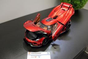 Autoart Neuheiten Koenigsegg Spielwarenmesse 2019 / Foto: ck-modelcars