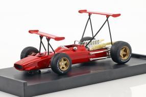 Ferrari 312 F1 1969 Amon Flügel Spain GP 1:43 Brumm