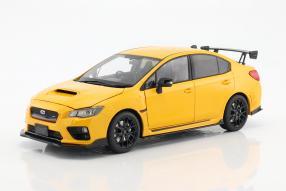 Modellautos Subaru S207 NBR challenge package 2015 1:18 Sunstar