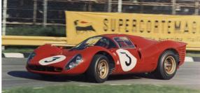 """Ferrari 330 P4 at """"1000 km di Monza"""", 1967 / Foto: Unknown"""