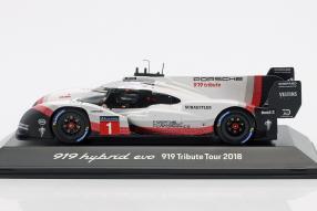 Modellautos Porsche 919 Tribute 1:43