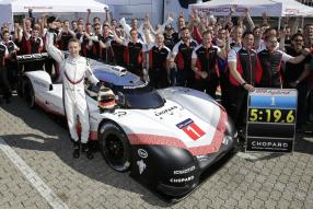 Porsche 919 Tribute Rekordfahrt