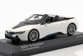 Modellautos BMW i8 Raodster 2018 1:43
