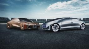 Spannen zusammen: BMW und Mercedes-Benz