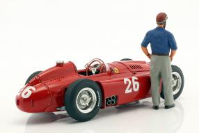 modelcars Ferrari D50 Fangio 1956 1:18